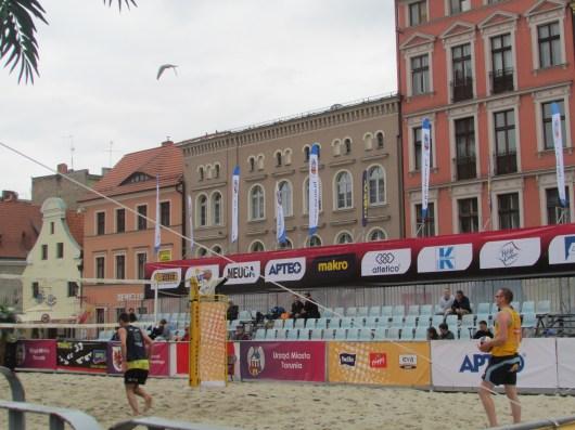 Beach ball in Poland!