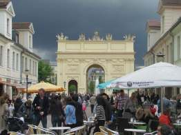 The other Brandenburg Gate, Potsdam