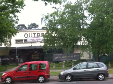 The Outpost movie theatre at the former Truman Plaza, once the center of the American military presence in Berlin