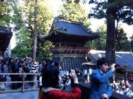 Inside the main compound of Nikko