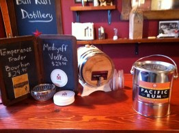 At the Bull Run Distillery