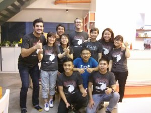 The AngelHack Vietnam 2015 Organizing Team.