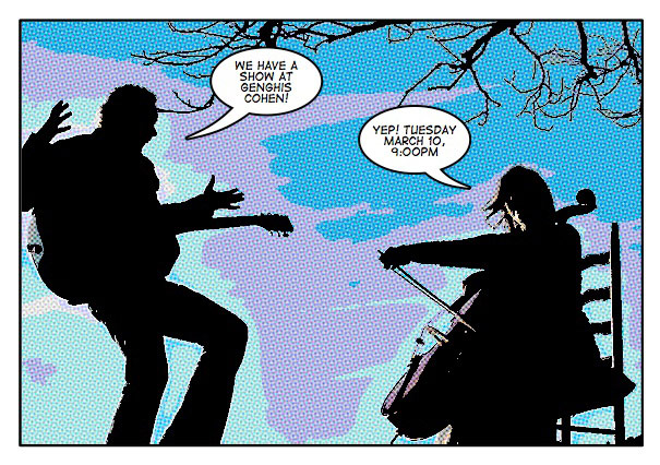 Genghis Cohen Comic