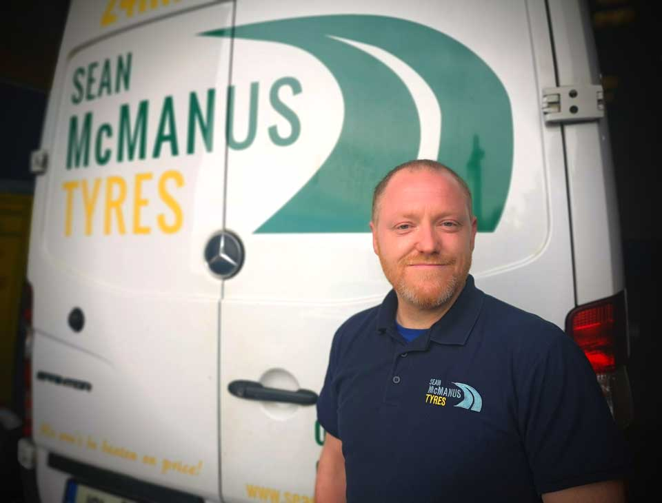 Meet the Team - Alan English - Sean McManus Tyres