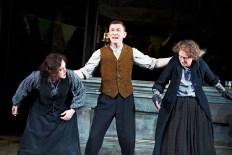 The Plough and the Stars 2012 Abbey Theatre, Deirdre Molloy, Tony Flynn, Gabrielle Reidy, Photo Credit Ros Kavanagh