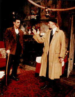 The Gate Theatre's 1986 production of Juno and the Paycock by Sean O'Casey. Photo by Tom Lawlor