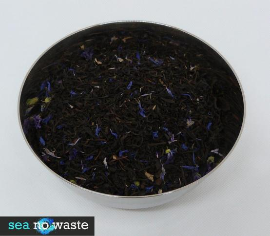 Earl grey blue lady