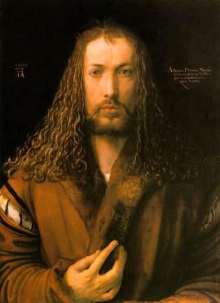 Albrecht Durer 'Self-Portrait age 28' (1500)