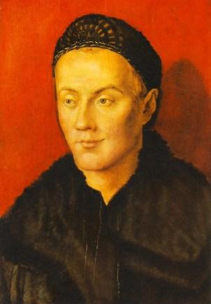 Albrecht Durer 'Portrait Of A Man, The Artist's Brother Hans Durer'