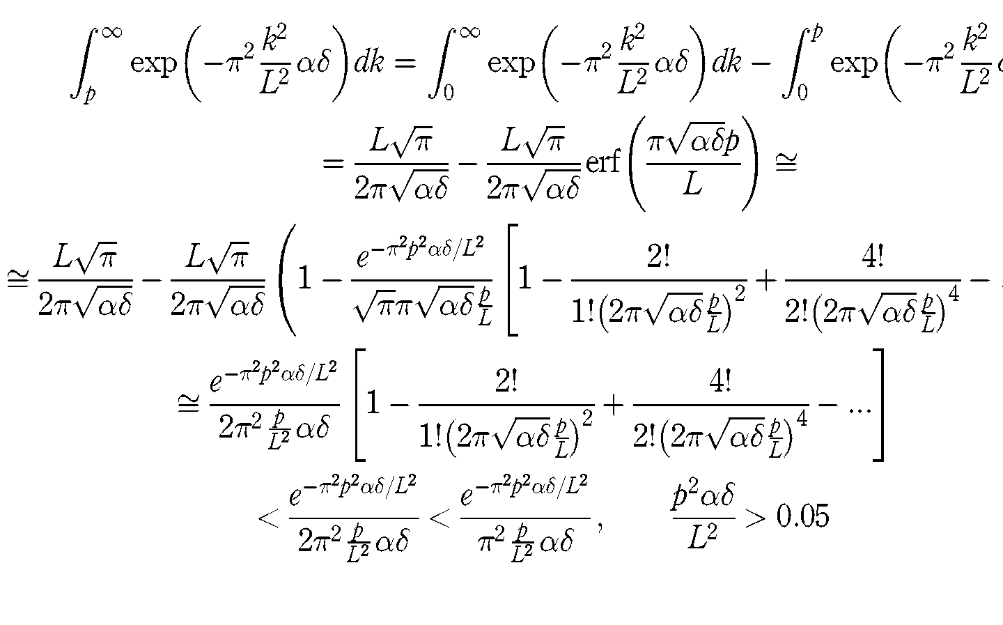 Complicated Math Equation