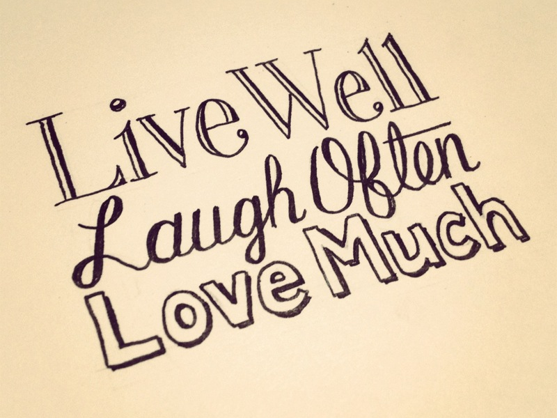 Live Laugh Love Learn Quotes
