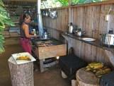 Yemileth making lunch