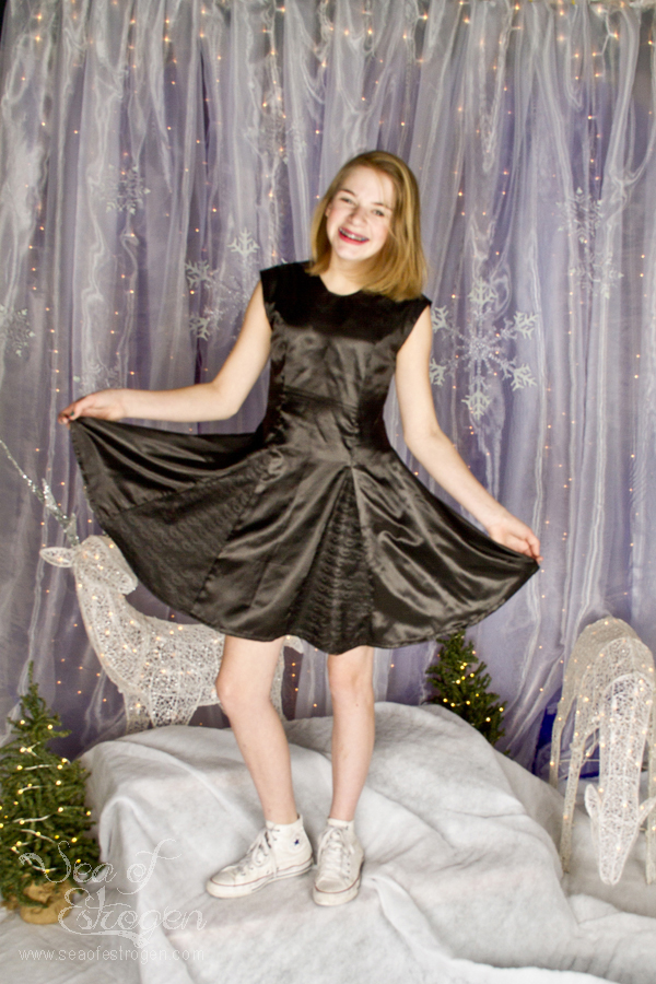 Lace Overlay & Slippery Fabric - November & December TSNEM
