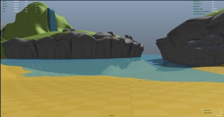 Here's one the first islands that we designed for #SeaOfThieves that later became the basis for Thieves Haven and Crook's Hollow...