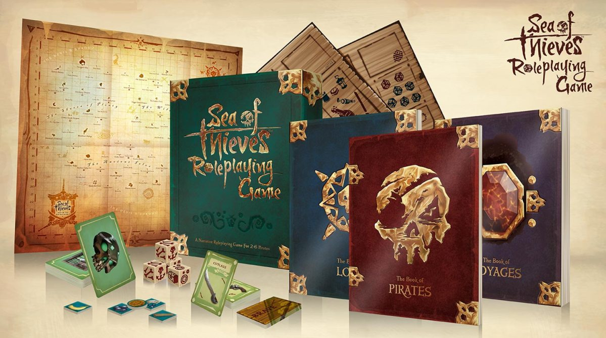 Announced: Sea of Thieves Roleplaying Game   Sea of Thieves