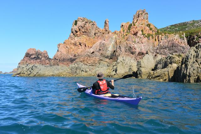 Jersey kayaking