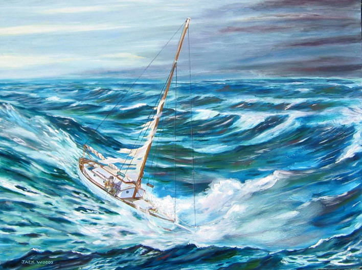 Pagan JohnCaldwell marine art jack woods
