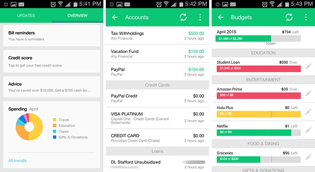 how to use a personal budget app to save for travel sea pursuit