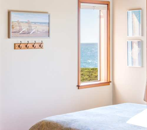 bedroom, oceanfront, Sea Ranch, Vacation Rental, Abalone Bay