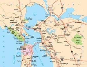 bleisure trip, Bay Area, map , Sea Ranch, Abalone Bay, Vacation Rental
