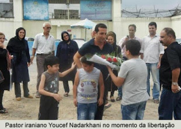 Julio Severo comenta a libertação do pastor Yousef Nadarkhani, destacando a atuação do Senador Magno Malta