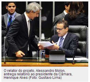 Molon - Henrique Alves