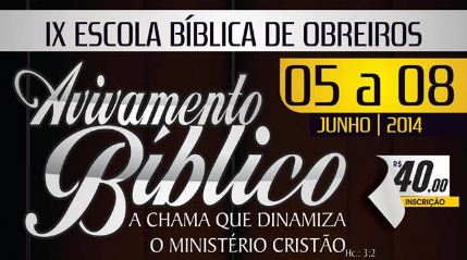 IX EBO - Escola Bíblica de Obreiros da Região Serrana do Espírito Santo