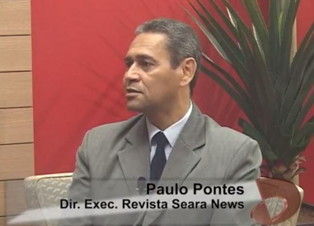 Pr. Paulo Pontes, participa do Programa Desafios na Tv Tribuna/SBT