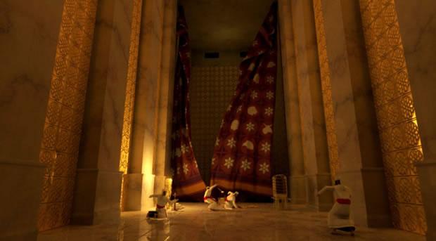 Judeus preparam novo véu para o Terceiro Templo