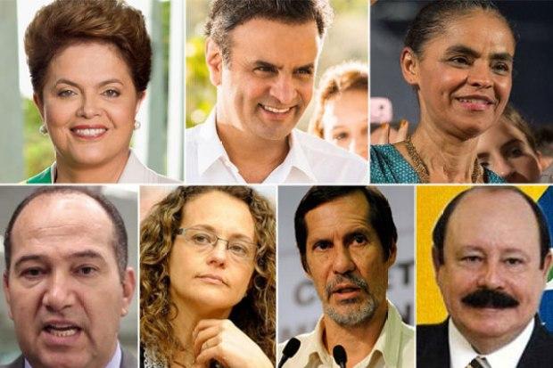 Os candidatos, as propostas de bem-estar e os currais