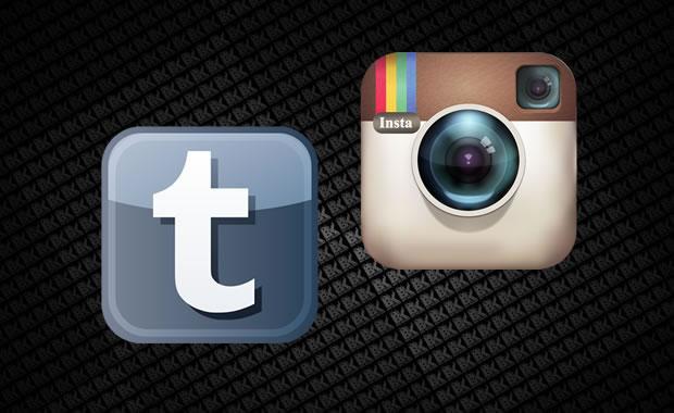 Tumblr e Instagram são as redes sociais mais 'jovens'