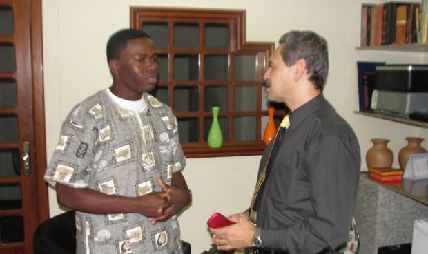 Daniel Buanaher: se preparando para formar obreiros na África