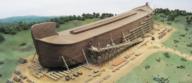 Réplica em tamanho real da Arca de Noé estará pronta em 2016 nos Estados Unidos