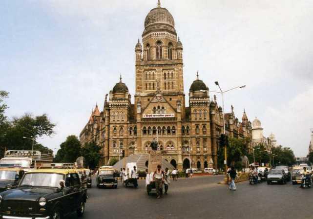 ムンバイの街