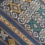 インドネシア、スンバ島の浮織イカット