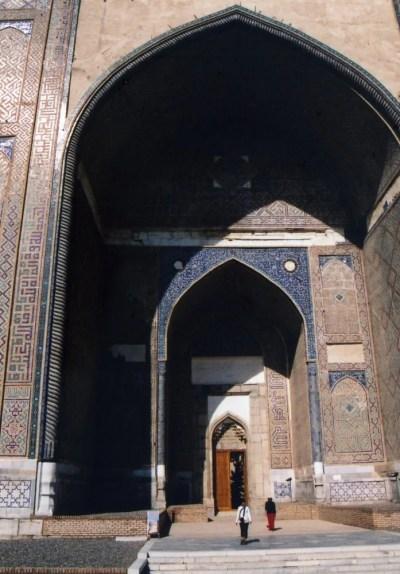 ビビハニム・モスク【ウズベキスタン(サマルカンド)】