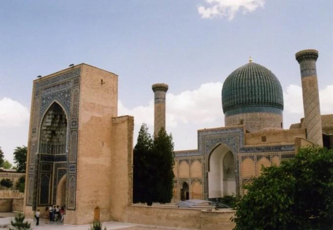 アミール・ティムール(グリ・アミール)廟 【世界遺産】【ウズベキスタン(サマルカンド)】