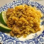【レシピ】炊飯器でチキンビリヤニを作りました!