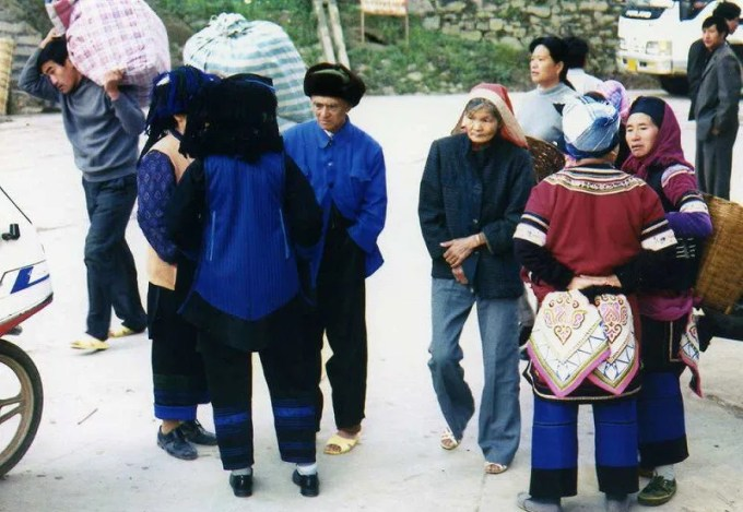 元陽のハニ族