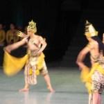 ジャワ舞踊「ラーマーヤナ・バレエ」(Ramayana)を鑑賞 in プランバナン寺院遺跡群
