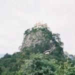 そびえ立つポッパ山の景観がすごい!【ミャンマー】