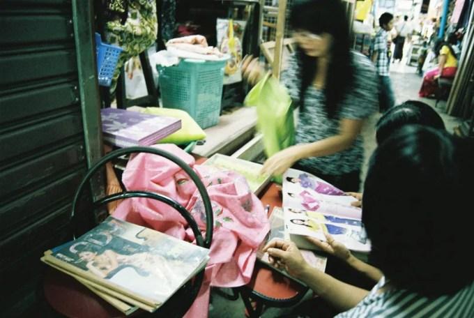 ボーヂョーアウンサンマーケット 【ヤンゴン】