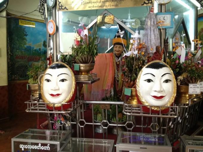 ダウンタウンの中心にあるスーレー・パヤー 【ヤンゴン】