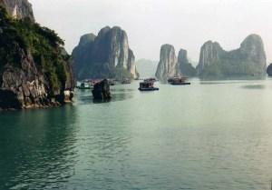 ハロン湾、ベトナム