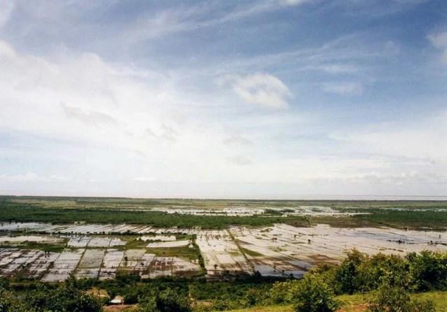 プノン・クロムからの風景