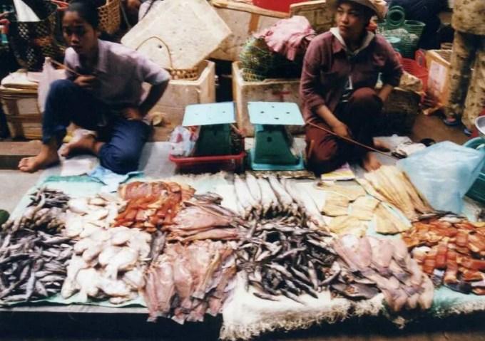 シェムリアップの市場
