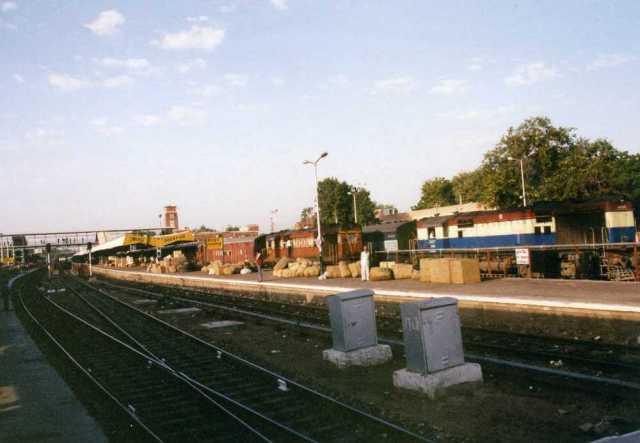 ジャイサルメールへの列車
