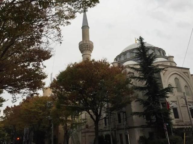 代々木上原にあるトルコ。東京ジャーミィ訪問