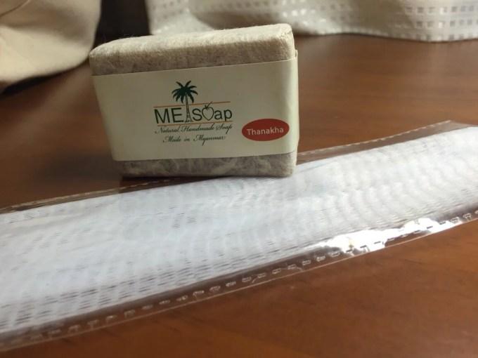 ミャンマー タナカ 石鹸