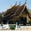 「ワット・シェントーン」のお寺と古都ルアンパバーンの町【ラオス】